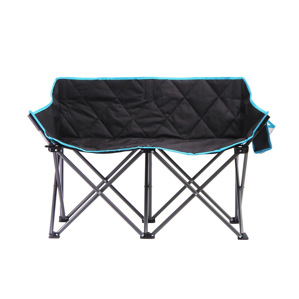 OEM 500pcs Custom Double Folding Beach Chair Double Armchair Folding Chair Backrest Love SeatOEM 500pcs Custom Double Folding Beach Chair Double Armchair Folding Chair Backrest Love Seat