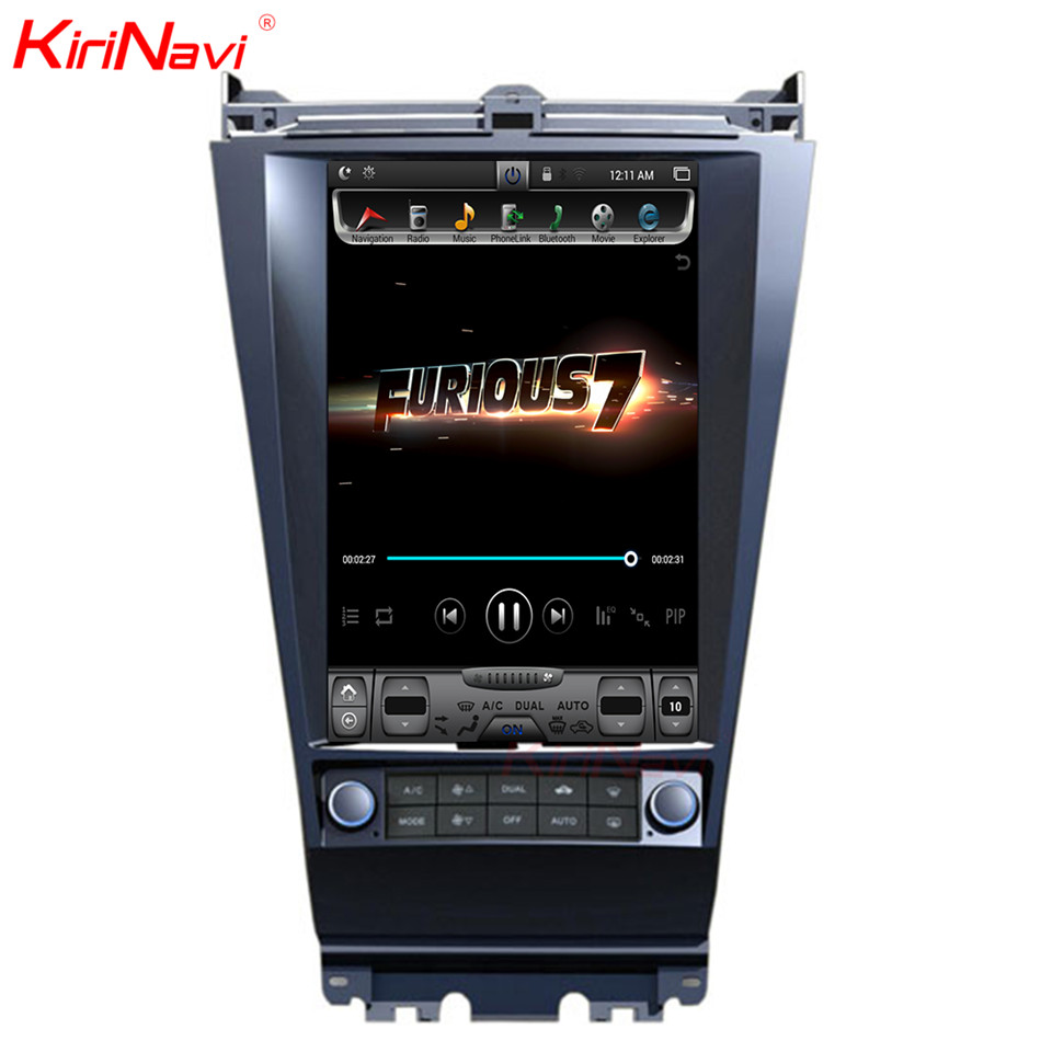 KiriNavi Vertical <font><b>Screen</b></font> Tesla Style 10.4inch <font><b>Car</b></font> <font><b>Radio</b></font> For <font><b>Honda</b></font> <font><b>Accord</b></font> 7 Android 7.1 Gps Navigation System Bluetooth 2002-2007 image