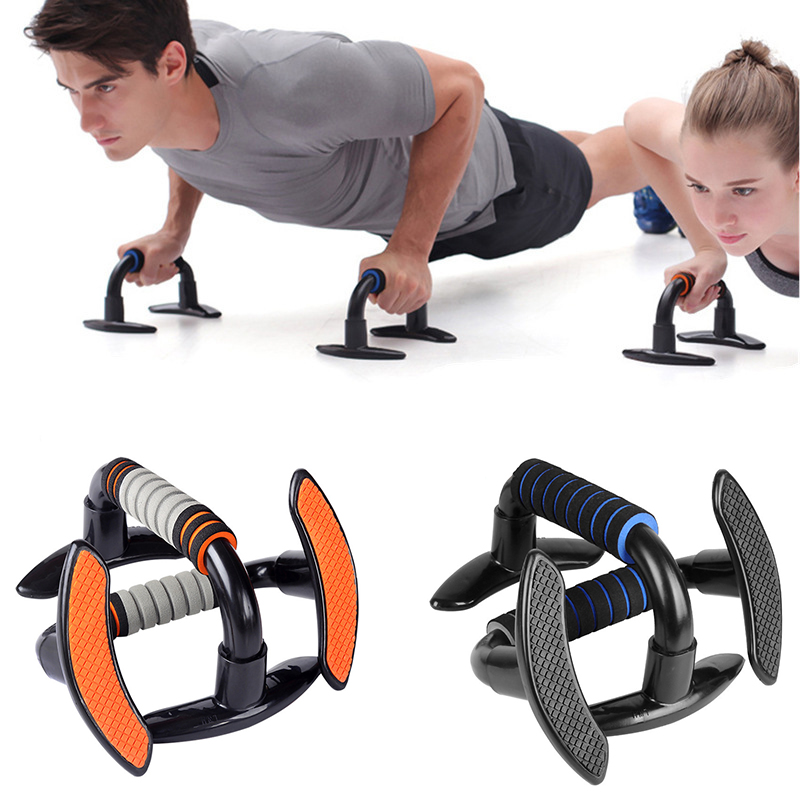 Sporting Goods Push Up Bars Push Up Stands Home Gym Fitness Exercise W/ Non-Slip Rotating Base