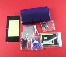 1set Ersatz voller Gehäuse Shell Fall Abdeckung mit taste bildschirm objektiv aufkleber für Nintendo 3DS Spiel Konsole