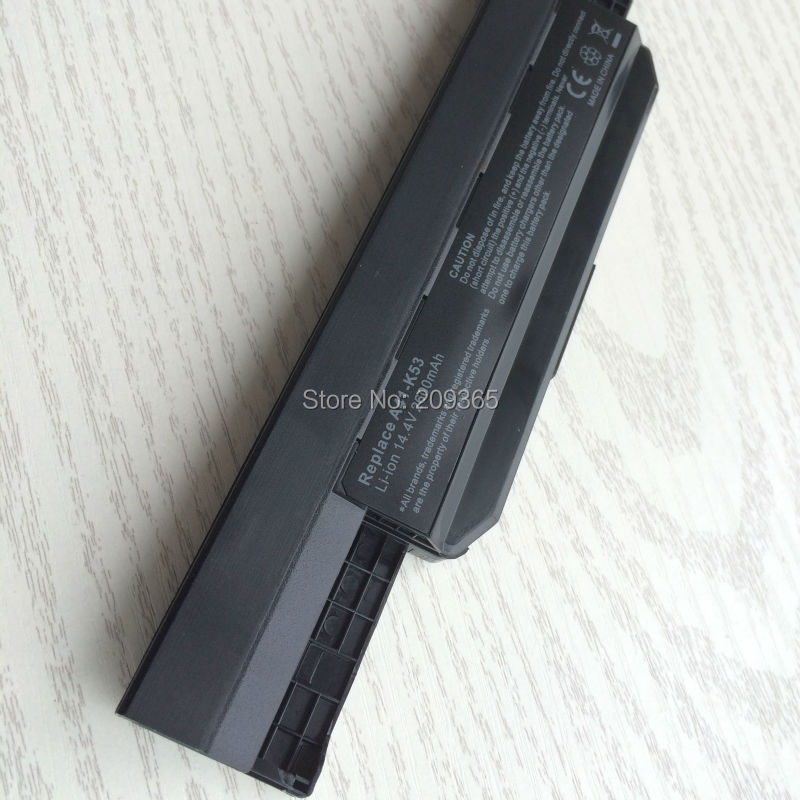 Image 3 - 14.4V A41 K53 battery for ASUS X54HR X54C X54H A54C X54HY A54H series-in Laptop Batteries from Computer & Office