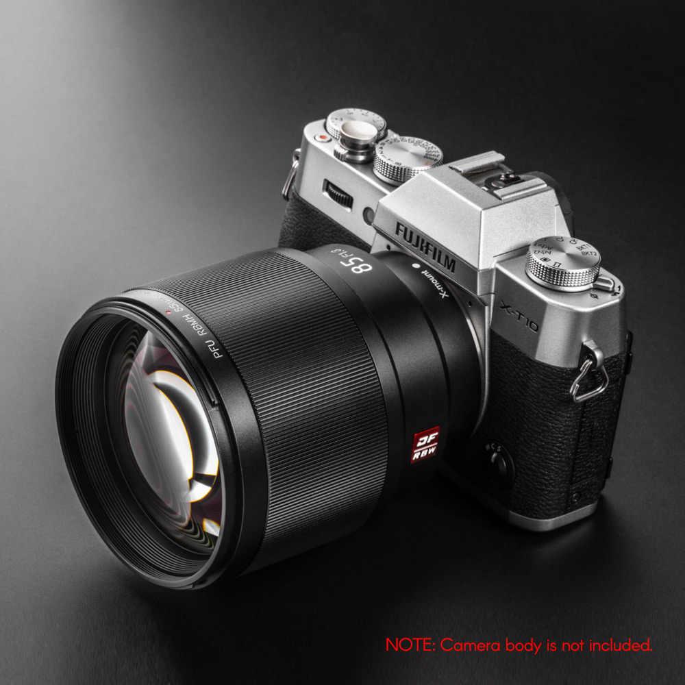 Viltrox для камеры Fujifilm X-Mount 85 мм F1.8 объектив камеры AF Автофокус стандартный основной объектив портретный объектив полная Рамка Авто ирис