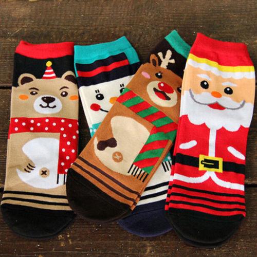 Women Baby Girls Kids Children's Christmas Socks Fashion Design Cute Toddler Xmas Funny Socks