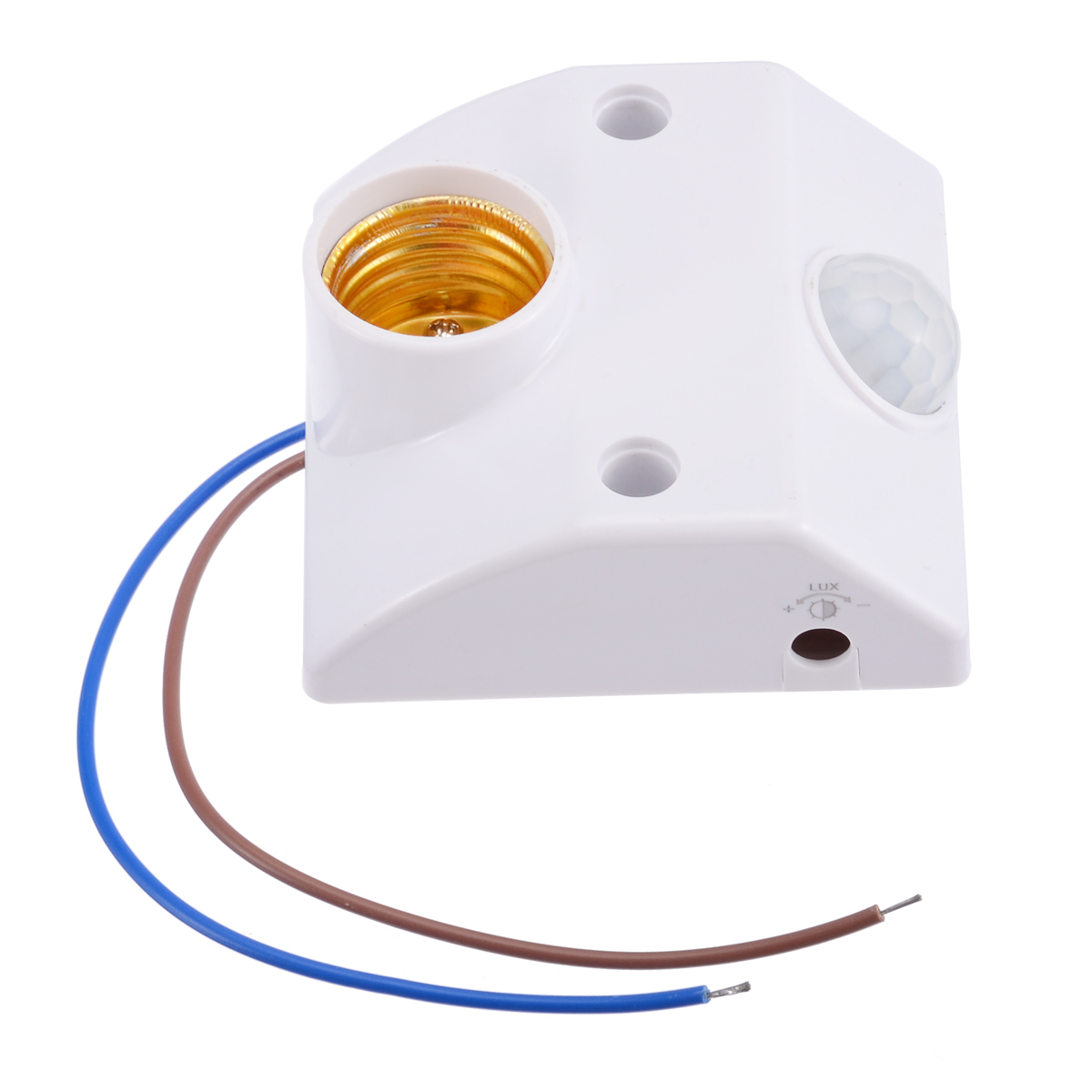 E27 Lamp Base Socket Pir Infrared Motion Sensor Led Light