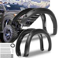 4PCS For Fender Flare Car Accessories Black Color Mudguards For Toyota Tundra 2007 2013