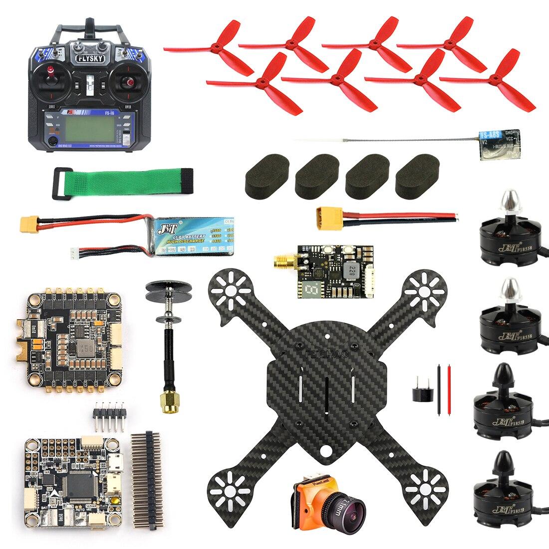 JMT DIY FPV Racer Drone Quadcopter RTF F4 Pro V2 Flight Cont