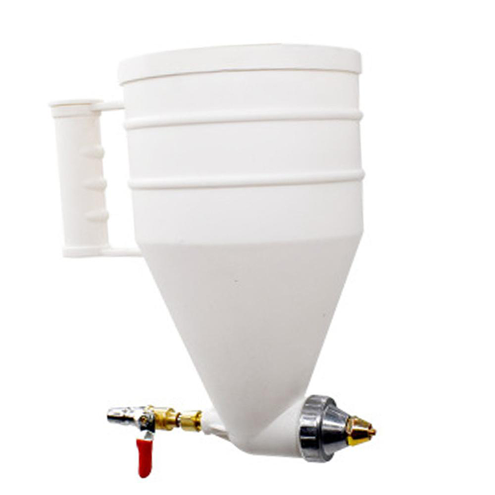 Image 2 - Hot Sale Exterior Wall Building Paint, Real Stone Paint, Plastic Coated Sprayer Cement Mortar Sprayer Latex Paint Spray-in Spray Guns from Tools on