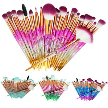 20PCS Unicorn Beauty Makeup Brushes Tool Set Blending Cosmetic  Powder Eye Shadow Brush 1