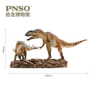 Image 2 - PNSO ChungKingosaurus Yangchuanosaurus dinozor modelleri müze koleksiyonu 1:35