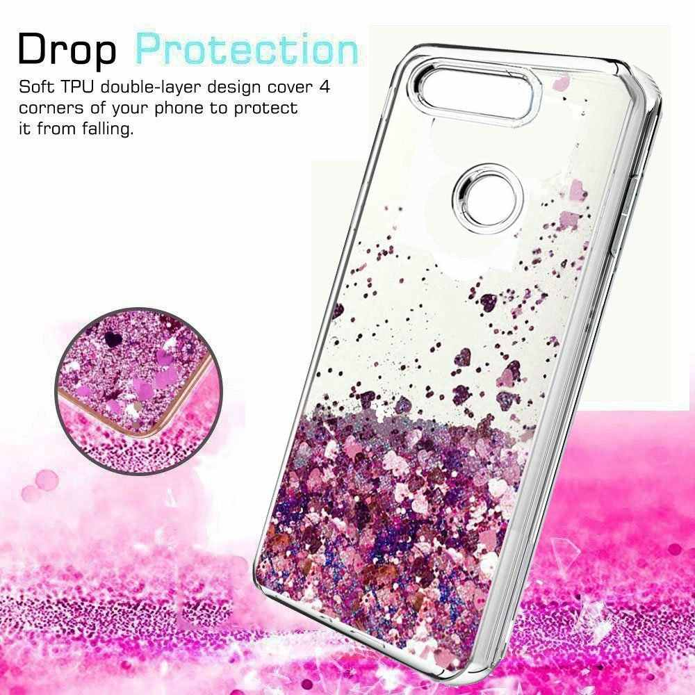 Liquid Glitter Dynamic Case For HuaWei Mate 20 Pro Lite Soft Silicon Cases For HuaWei Honor 7A Pro 10 Y7 Y5 Y6 Prime 2018 Cover