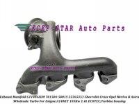 Exhaust Manifold Turbine housing GT1446SLM 781504 781504 5001S 860156 55565353 For Chevrolet Cruze ECOTEC A14NET 103Kw 1.4L