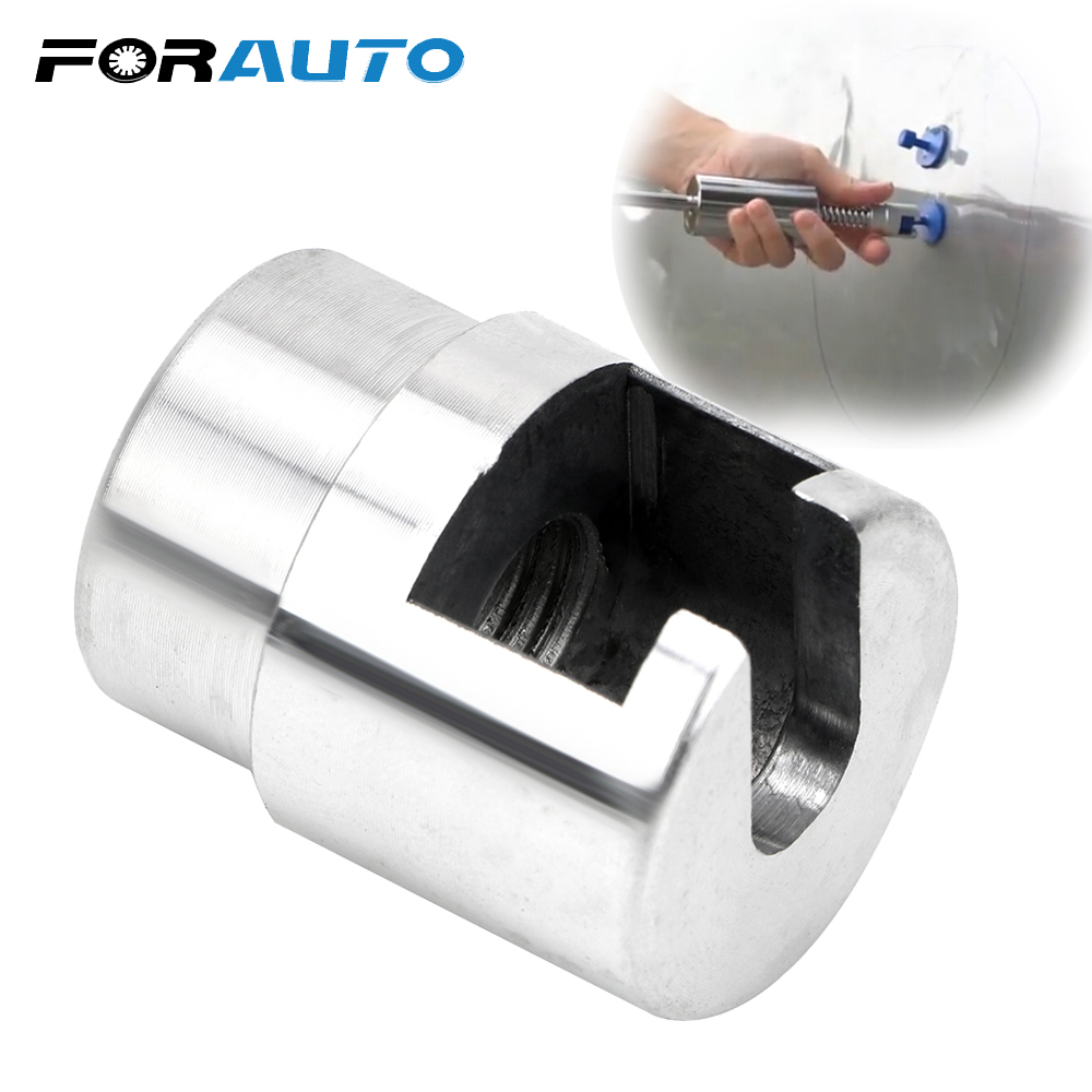 FORAUTO Car Dent Repair Puller Dent Repair Adapter Head Paintless Dent Repair For Slide Hammer & Pulling Tab Hail Removal Kit