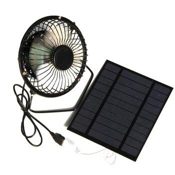USB Fun + 5V Solar Powered Panel I