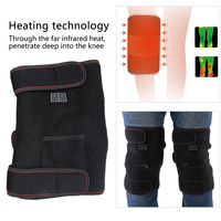Electric Heating Knee Pad Infrared Brace Massage Therapy Leg Care Support