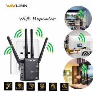 Wireless Wifi Repeater Routers Lan-Extender-Booster Networking 1200mbps 5G for 2X