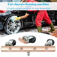 Pressure Washer Car Under Body Chassis Cleaner 4 Spray Nozzle 1/4 Connector Car Chassis Water Spray Wash Cleaning Washer Machine