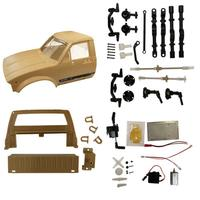 RCtown WPL C14 2.4G 1/16 Four Drive Climber RC Car KIT with Servo Motor RC Accessories