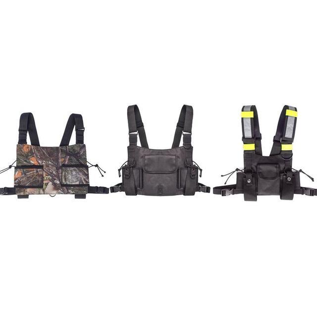 Outdoor strategical vest wireless