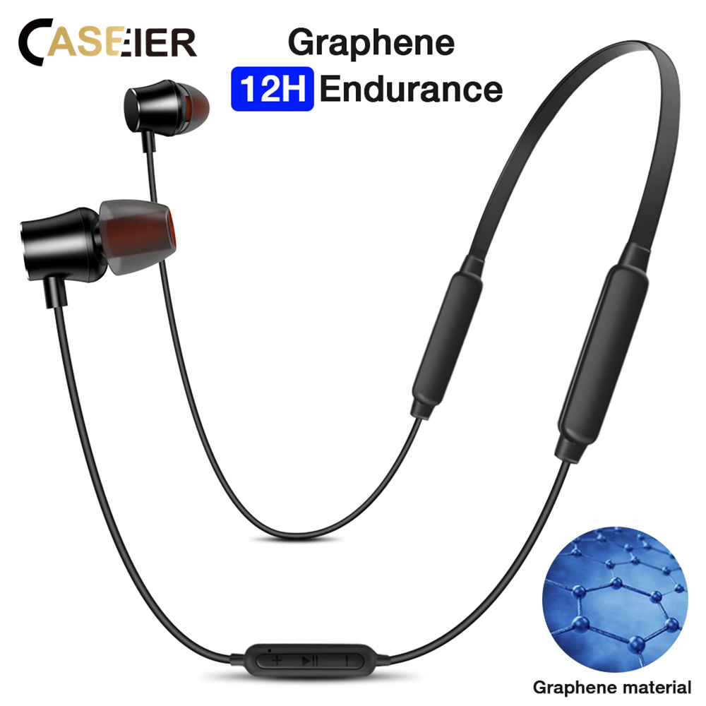 CASEIER Q6 Bluetooth Wireless Earphone Sports Headphone with MIC Earbuds Stereo Hi-Fi Bluetooth Headset auriculares inalambrico