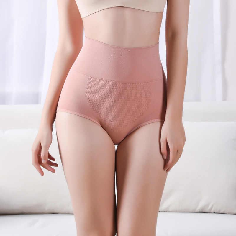 Бесшовное женское корректирующее белье с высокой талией живот для похудения контроль трусики Корректирующее белье женское нижнее белье ssy03