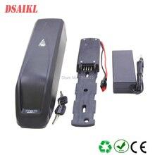 цена на Top quality hailong frame ebike frame battery 36V 14Ah 15Ah 17Ah li-ion battery pack with charger
