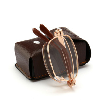 XojoX складные очки для чтения, женские металлические очки для дальнозоркости, складные очки для диоптрий+ 1,0 1,5 2,0 2,5 3,0, очки для дальнозоркости для мужчин