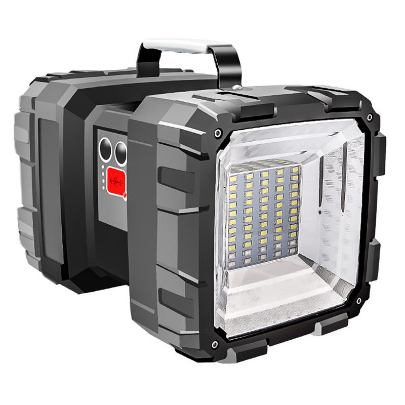 Super Bright 40W Led Flood light USB Rechargeable Flashlight Led Searchlight Portable Outdoor Emergency Work Light Camping Light