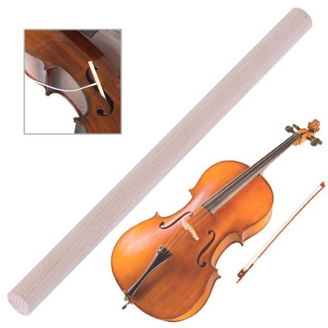 1 pcs 180mm 4/4-3/4 Madeira De Abeto Violoncelo Violoncelo Acústico Som Post para Instrumentos Musicais de Cordas Acessórios de Alta qualidade