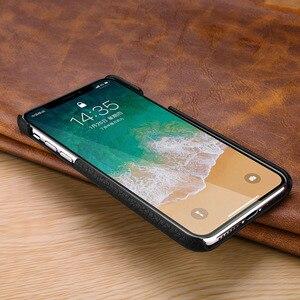Image 5 - Cho iPhone X Vải Họa Tiết Da Bò Cho iPhone 6 6S 7 8 Plus XS XR XS Max 11 max Pro Chống Sốc Chính Hãng