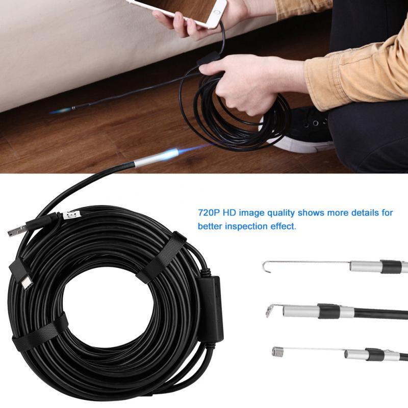 Messung Und Analyse Instrumente Endoskope Endoskop Kamera 3 In 1 Usb Micro Usb Typ-c 720 P Hd Android Pc Endoskop Wasserdichte Endoskop Inspektion Kamera Gute Neue Sorten Werden Nacheinander Vorgestellt