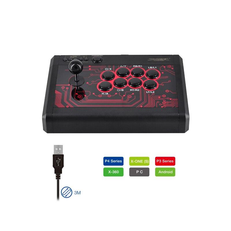 TP4 848 7 в 1 супер Аркады боевые палки для Playstation 4 PS4/PS3 для Xbox One проводной игровой контроллер аксессуар для видеоигр