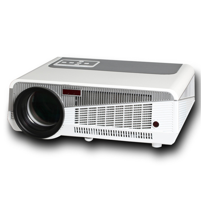 Flash Promo 1080P Resolution 1280 x 800 Pixels 3600 Lumens Home Theater LED Projector