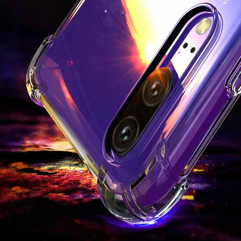 Anti-Knock TPU Case For Huawei Y9 2019 honor 8c Mate 20 Pro/Lite RS P20Pro Transparent Case for Honor 10 9lite 8C P10 P9 Lite
