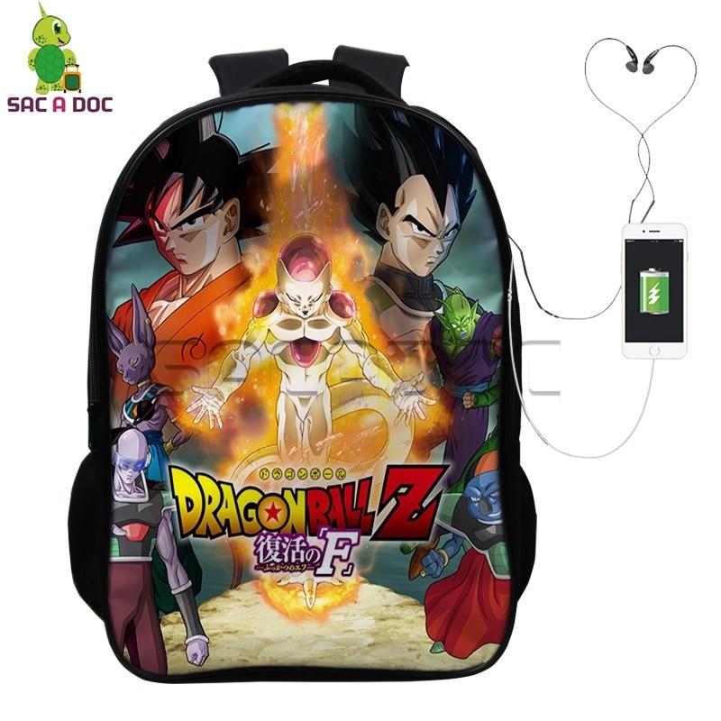 Ceiling Lights & Fans 2019 Bts Anime Dragon Ball Z Super Saiyan Goku Men Bag 3d Backpack Men/women Kawaii Print School Bags Men Fashion Harajuku High Quality And Inexpensive
