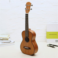 23/26 Inch 4 Strings Mahogany Ukulele Rosewood Fretboard & Bridge Guitar Music Instrument For Guitar Music Lovers Gift