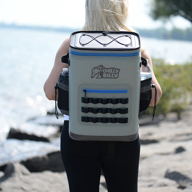 Bolsa de Picnic GZLBO para Camping senderismo 36 latas mochila caja enfriadora suave para pesca de mar bolsa enfriadora para la playa bolsa de vino