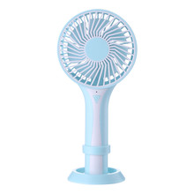 St-D6 Mini Portable Usb Rechargeable Hand Held Air Conditioner Summer Cooler Fan Hand Fans mini usb hand fan cooling portable fan led light air conditioner cooler adjustable speed heat rechargeable battery fans 200mm