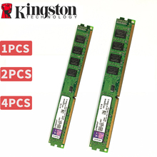 Kingston PC ram bellek Memoria modülü masaüstü DDR2 DDR3 1GB 2GB 4GB 8GB PC2 PC3 667mhz 800mhz 800 1333 1600 1600mhz 1333mhz 8g