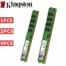קינגסטון מחשב זיכרון RAM Memoria מודול שולחני DDR2 DDR3 1GB 2GB 4GB 8GB PC2 PC3 667mhz 800mhz 800 1333 1600 1600mhz 1333mhz 8g
