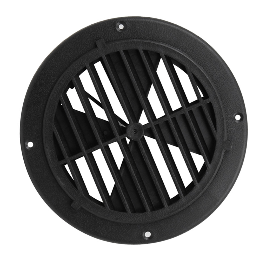 6.5 Inch Boat Round Louvered Vent For <font><b>RV</b></font> <font><b>Motorhome</b></font> Marine Ventilation UV Protection 0.7 Inch PP Boat <font><b>Accessories</b></font> Marine image