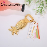 Qianxiaozhen 10pcs Pineapple Bottle Opener Wedding Favors And Gifts Wedding Gifts For Guests Wedding Souvenirs Party Supplies
