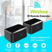 1 Pair Wireless IR Remote Extender Repeater HDMI Transmitter Wireless IR Repeater Extender Good Signal And Remote Control