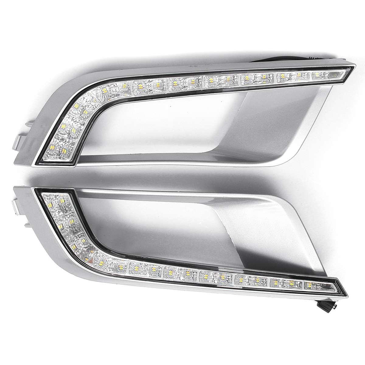 1 Pairs LED DRL Daytime Running Lamp Car Light Beads Assembly for Ford Ranger Wildtrak T6 MK2 2016-20181 Pairs LED DRL Daytime Running Lamp Car Light Beads Assembly for Ford Ranger Wildtrak T6 MK2 2016-2018