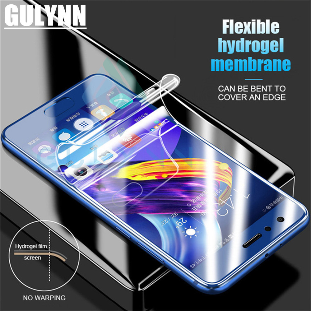 Soft Hydrogel Film For Huawei Honor 10 9 8 6X 7X Lite Full Cover Protective Film For Huawei P10 P20 Lite Pro Screen Protector