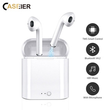 CASEIER i7s TWS Wireless Bluetooth Earphone Music Earbuds Set Headsets Stereo With Charging Box auriculares inalambrico все цены