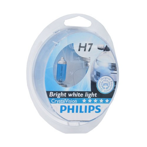 Lamp Philips CRISTAL VISION 4300 K H7, 55, PX26d, 12 V (12972CVSM) k v gortners karalienes zvērests