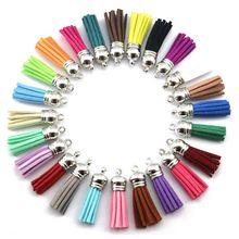 30 мм смешанный цвет брелок с кистями телефон браслет ювелирные изделия, 50 шт аксессуары-Подвески