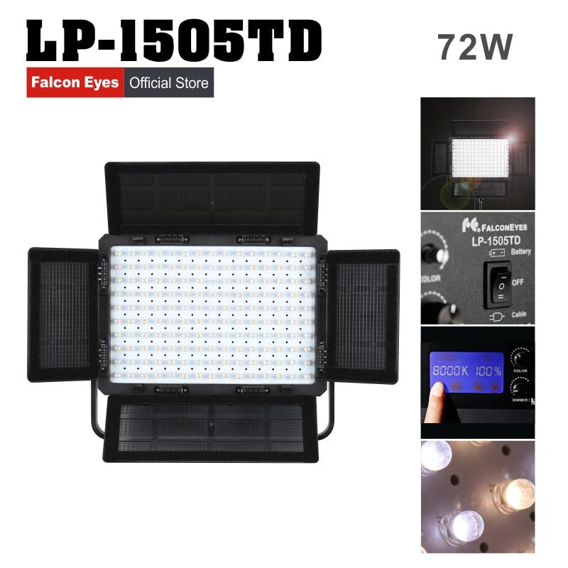 Falconeyes LED professionaalne stuudio videolamp 75W kahevärviline - Kaamera ja foto - Foto 1