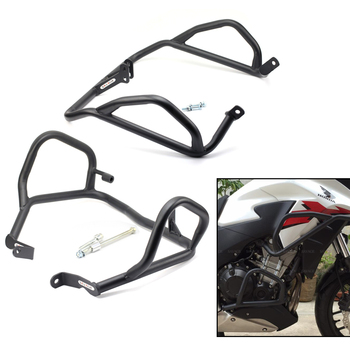 Fairing Cowl & Engine Crash Bar Protector For HONDA CB500X CB400X 2013-2018 14 15 16 17 Motorcycle Front Extension Guard