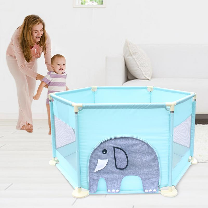 Children's Playpen Playard Toys Washable Ocean Ball Pool Set Baby Bed Fence Home Safety Gate Products For Children